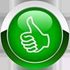 daumen-grün-100x100